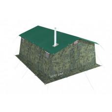 Армейская палатка БЕРЕГ-10М1 4,1 м х 5,25 м