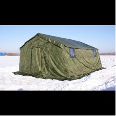 Армейская палатка БЕРЕГ-10М2 4,1 м х 5,25 м