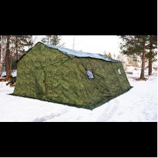 Армейская палатка БЕРЕГ-15М2 4,1 х 7 м (двухслойная)
