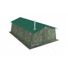 Армейская палатка БЕРЕГ-15М1 4,1 м х 7 м (однослойная)