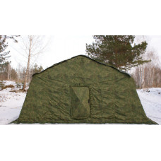 Армейская палатка 30М2 БЕРЕГ 6,75м х 6 м