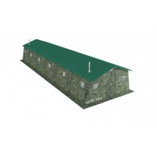 Армейская палатка Берег-50М1 13,5 м х 6 м (однослойная)