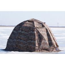 Зимняя туристическая палатка уп 2 фирмы берег, каркас 8 и 10 мм